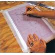 """Papel Carbón (pasante) para Diseños / Patrones de Vitrales - 22"""" x 34"""""""
