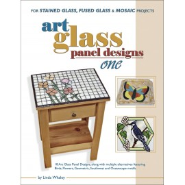 Libro / Revista / Catálogo de Vitrales y Vitromosaico Art Glass Panel Designs One