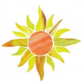 Sol Pre-Cortado de Vidrio para Vitrales o Vitromosaico