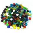 Gemas de Vidrio Medianas de Colores para Vitrales y Vitromosaico - 1lb