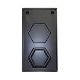 """Molde para Caja Hexagonal - 4-1/4"""""""
