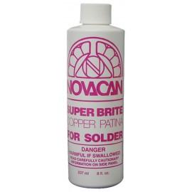 Patina Novacan color Cobre para Soldadura de 8oz para Vitrales