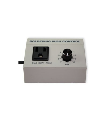 Regulador / Reostato de Temperatura Choice para Cautines para Vitrales