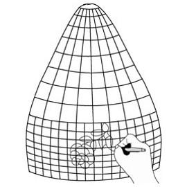 Cuadrícula para Diseño de Lámparas B24-0