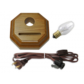 Base Oak Fan para Lámpara
