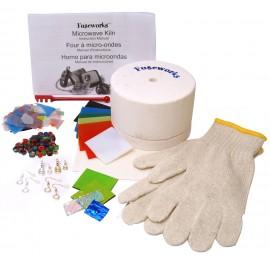 Horno para Microondas Fuseworks para Joyería en Vitrofusión - Kit