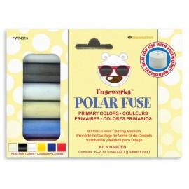 Colores Primarios de Vidrio en Polvo - Polar Fuse