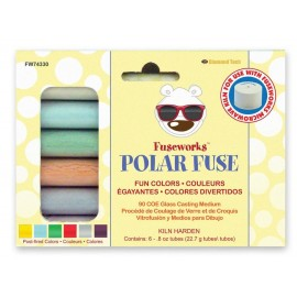 Colores Divertidos de Vidrio en Polvo - Polar Fuse
