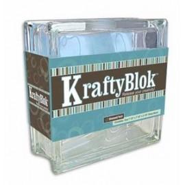 "KraftyBlok de 7-1/2"" c/Perforación para Decoración"
