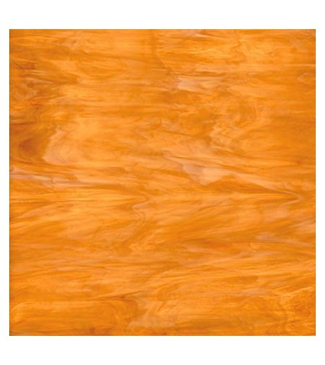 Vidrio Spectrum Glass color Ambar SP 317-1 para Vitrales y Vitromosaico