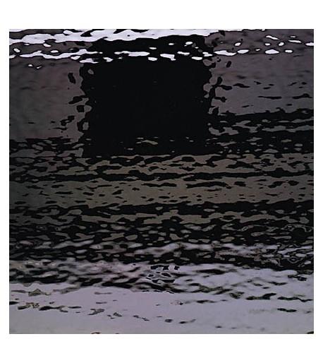 "Vidrio Spectrum Glass color Negro SP 1009W ""Waterglass"" para Vitrales y Vitromosaico"