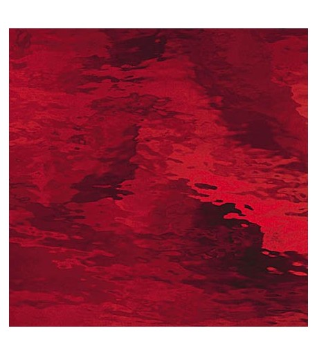 "Vidrio Spectrum Glass color Rojo SP 152W ""Waterglass"" para Vitrales y Vitromosaico"