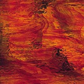 "Vidrio Spectrum Glass color Rojo SP 451-20W ""Waterglass"" para Vitrales y Vitromosaico"