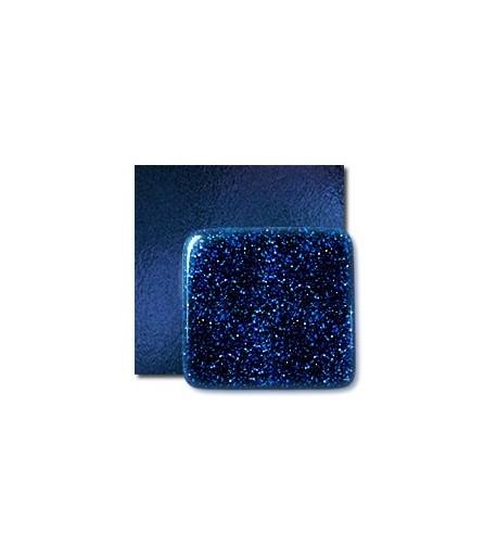 """Vidrio System 96 color Azul SP 138AVF """"Aventurine"""" para Vitrofusión, Vitrales y Vitromosaico"""