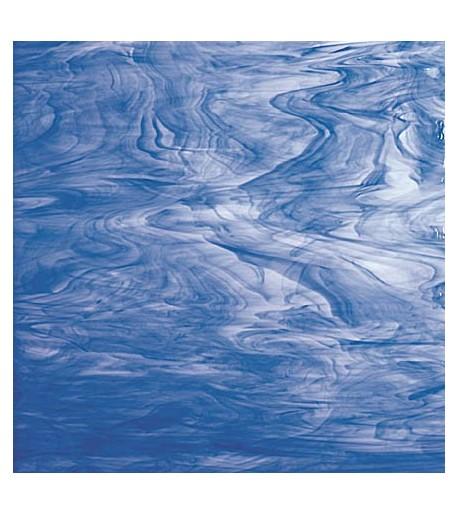 Vidrio Spectrum Glass color Azul SP 335-6 para Vitrales y Vitromosaico