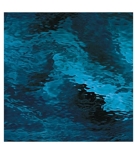 Vidrio Spectrum Glass color Azul SP 538-4W Waterglass para Vitrales y Vitromosaico