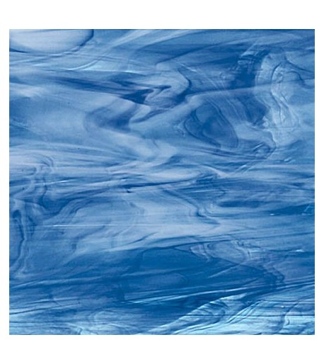 Vidrio Spectrum Glass color Azul SP 633-7 para Vitrales y Vitromosaico