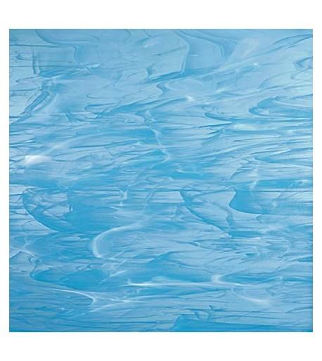 Vidrio Spectrum Glass color Azul SP 833-91 para Vitrales y Vitromosaico