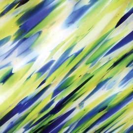 """Vidrio System 96 color Azul SP SPIRIT/4361-76F """"Atlantis"""" para Vitrofusión, Vitrales y Vitromosaico"""