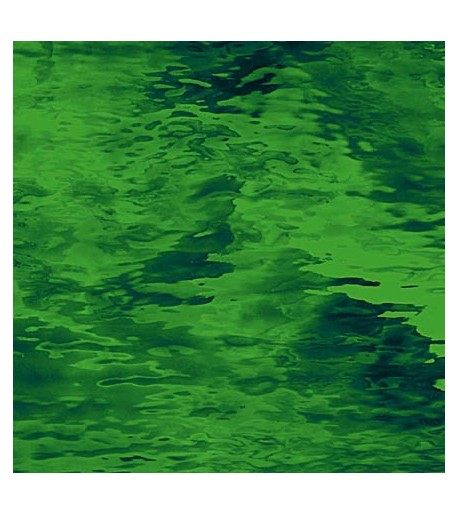 "Vidrio Spectrum Glass color Verde SP 123W ""Waterglass"" para Vitrales y Vitromosaico"