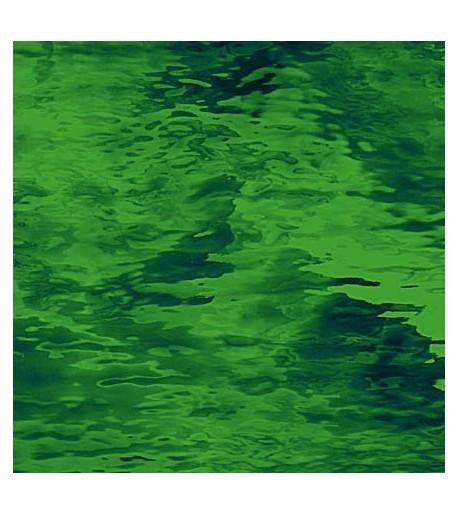 "Vidrio Spectrum Glass color Verde SP 123W ""Waterglass"" para Vitrales y Vitromosaico"