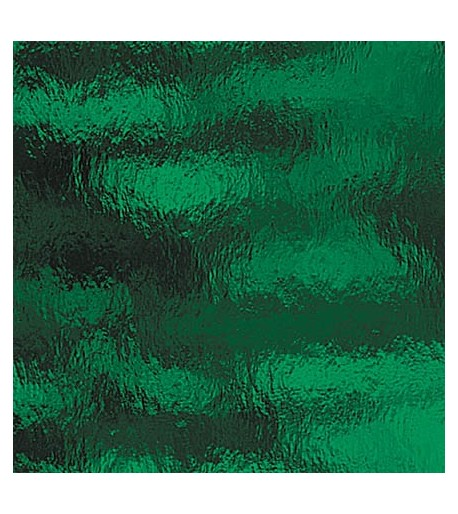 "Vidrio Spectrum Glass color Verde SP 125RR ""Rough Rolled"" para Vitrales y Vitromosaico"