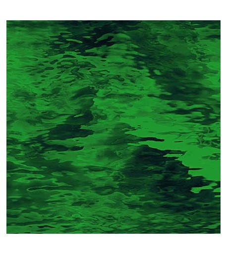 "Vidrio Spectrum Glass color Verde SP 125W ""Waterglass"" para Vitrales y Vitromosaico"
