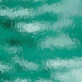 "Vidrio Spectrum Glass color Verde SP 523-2RR ""Rough Rolled"" para Vitrales y Vitromosaico"