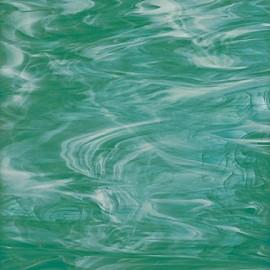 Vidrio Spectrum Glass color Verde SP 823-72 para Vitrales y Vitromosaico