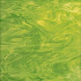 Vidrio Spectrum Glass color Verde SP 826-71 para Vitrales y Vitromosaico