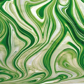 Vidrio Spectrum Glass color Verde SP BR/602-6 para Vitrales