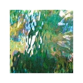 Vidrio Spectrum Glass color Verde Iridiscente SP I/125W para Vitrales y Vitromosaico