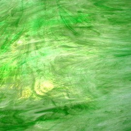 Vidrio Wissmach Glass color Verde WO-101 para Vitrales y Vitromosaico