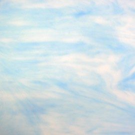 Vidrio Opalescente color Azul KO 37 para Vitrales y Vitromosaico