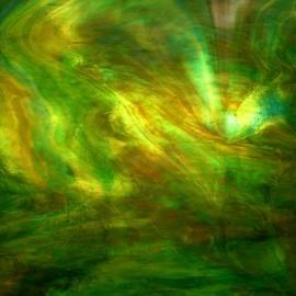 Vidrio Opalescente Kokomo Glass color Verde / Café KO 203 para Vitrales y Vitromosaico