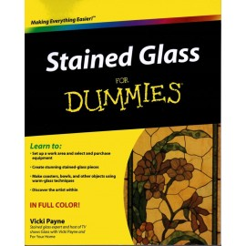 Libro / Revista / Catálogo de Vitrales Stained Glass for Dummies