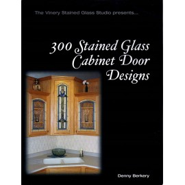 Libro / Revista / Catálogo para Vitrales 300 Stained Glass Cabinet Door Designs