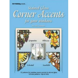Libro / Revista / Catálogo para Vitrales Stained Glass Corner Accents for your Windows