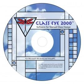 Programa / Software de Diseño para Vitrales Glass Eye 2000 Edición Estándar