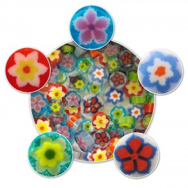 Surtido de Flores Millefiori (96COE) para Vitrofusión
