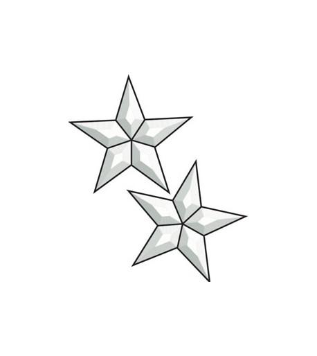 Cluster Biselado de Estrellas 5 Puntas