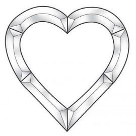 Cluster Biselado de Corazón