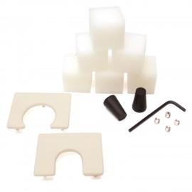 Kit de Accesorios para Pulidoras Glastar para Vitrales