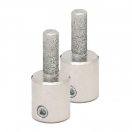 """Piedras Diamantadas Twofers - 1/4"""" E (2pzs)"""