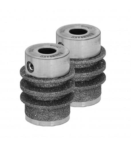 Piedras / Diamantes / Muelas Diamantadas Twofers para Reducir Vidrio (Ripple Bits)