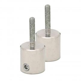 """Piedras Diamantadas Twofers - 1/8"""" E (2pzs)"""