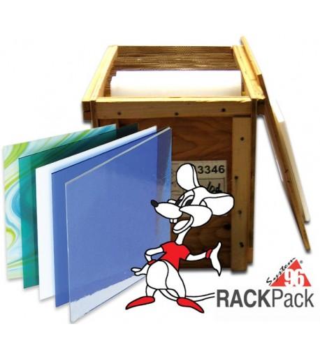 Paquete de Vidrio para Vitrofusión System 96 Rack Pack