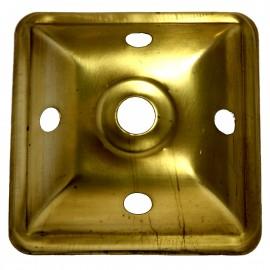 """Tapa para Lampara de 4 lados c/Orificios - 2-7/8"""""""