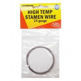 Alambre para Alta Temperatura Kemper Calibre 24 para Vitrofusión