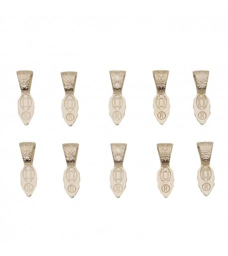 Colgantes Plata Esterlina Variedad de Texturas para Joyería en Vitrofusión